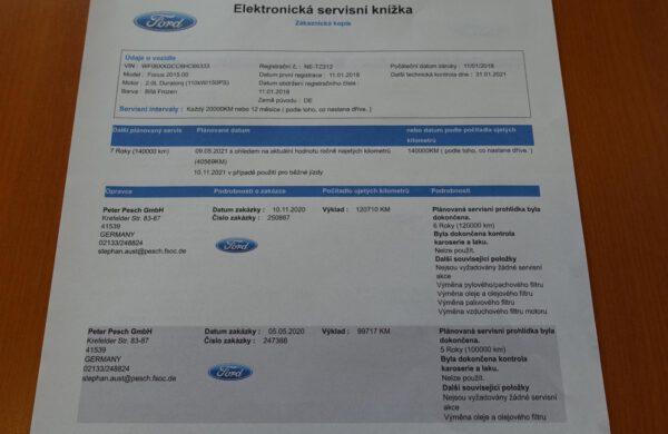 Ford Focus 2.0TDCi Titanium, nabídka A140/21