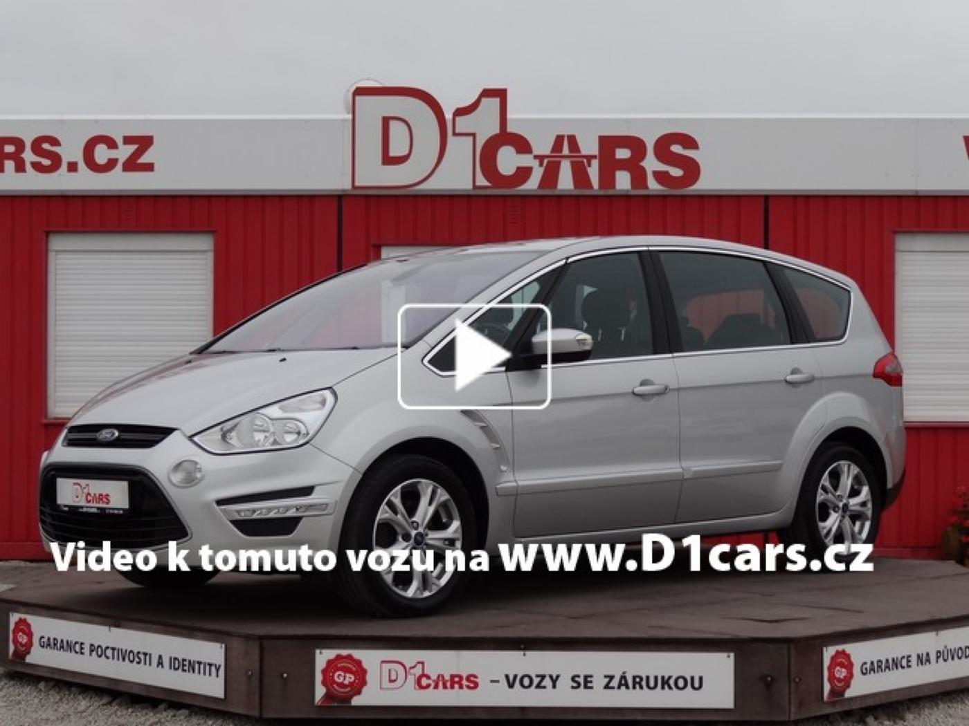 Ford S-MAX 2.2 TDCi 147kW Titanium ZIMNÍ PAKET, nabídka A169/17