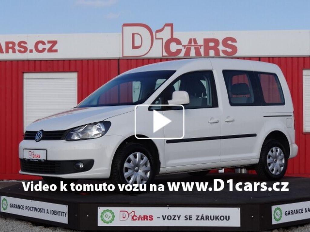 Volkswagen Caddy 1.6 TDi 75 kW 5 MÍST DIGI KLIMA 284071b4396