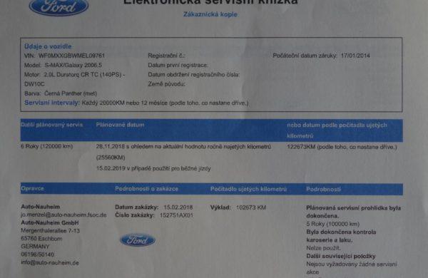 Ford Galaxy 2.0 TDCi DIGI KLIMA, ZIMNÍ PAKET, nabídka A46/18