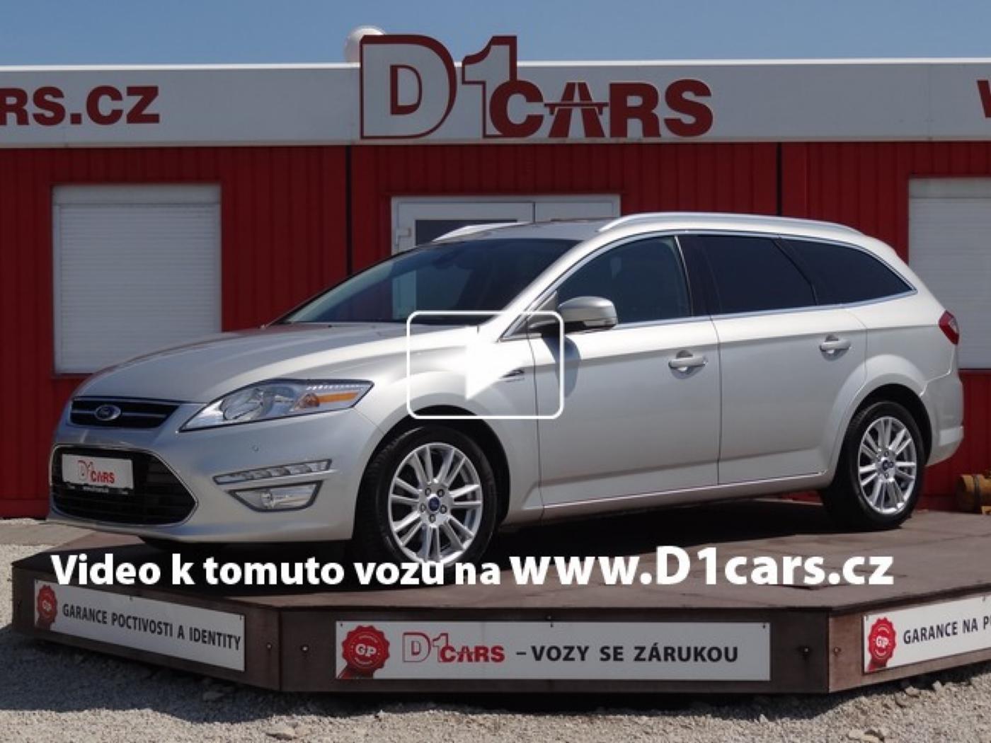 Ford Mondeo 2.0 TDCi Titanium NAVI, ZIMNÍ PAKET, nabídka A81/17